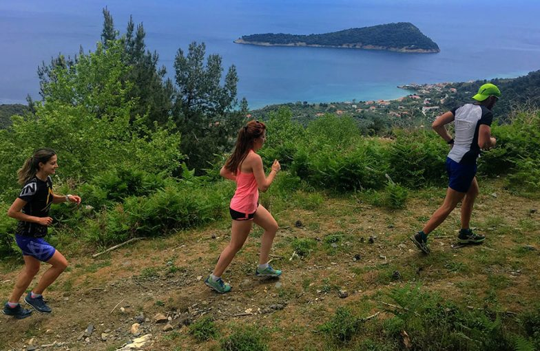 Greece Island Trail Running Camp